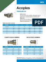 ACOPLE RAPIDO DICA PCH_Y_PNH