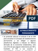 2.B Expectativas Fiscales 2020 - Julio