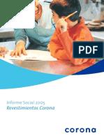 INFORME SOCIAL 2005