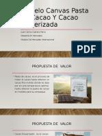 Modelo Canvas Pasta de Cacao Y Cacao Pulverizada