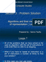Algorithms and Their Methods of Representation ( Loops) (1)
