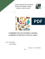 O perspectiva economica a turismului din Oman