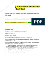 The Biology of Cancer 2nd Edition by Robert a. – Test Bank