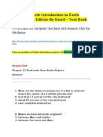 The Good Earth Introduction to Earth Science 4Th Edition by David – Test Bank