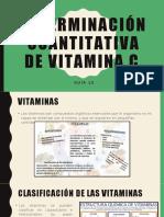 Guía 10 Determinación Cuantitativa de Vitamina C