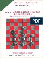 Juan Roussell Parcy - Los primeros pasos en ajedrez.pdf