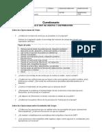 F510 Cuestionario para SD SAP