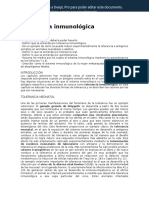 Immunological Tolerance ES