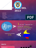 Ley 1616 del 2013