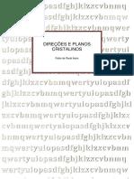 16. - APOSTILA - DIREÇÕES E PLANOS CRISTALINOS.pdf