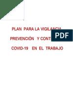 8. PLAN DE VIGILANCIA