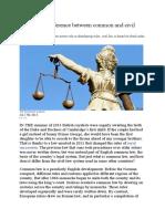 The Economist explains Common v Civil Law