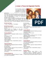 Terço da Sagrada Família de Nazaré