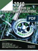 Alberta Fishing Regs 2010