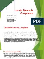 DESCUENTO BANCARIO COMPUESTO.pptx