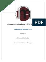 S.I FINAL REPORT BY SARA rafiq