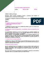 TALLER DE QUIMICA (RESPUESTAS)