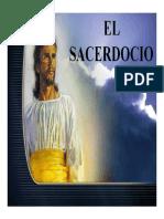 4. SANTUARIO. EL SACERDOCIO