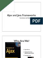 Ajax and Java