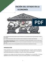 Unidad 8. La Intervención del Estado en La Economía