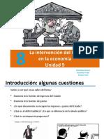 Unidad 8_ La Intervención Del Estado en La Economía_4ºESO_ppt