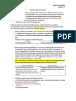 DERECHO PROCESAL PENAL, PRIMER PARCIAL