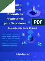 Sistemas Operativos Propietarios para Servidores