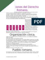 Instituciones del Derecho romano.