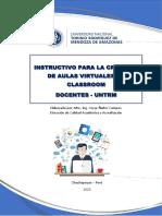 Instructivo Classroom