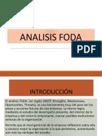 Analisis FODA Santiago