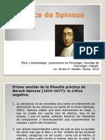 La ética de Spinoza