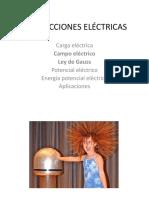 2A- CAMPO ELÉCTRICO Y LEY DE GAUSS(1)
