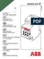 manual reloj dts7_1 abb