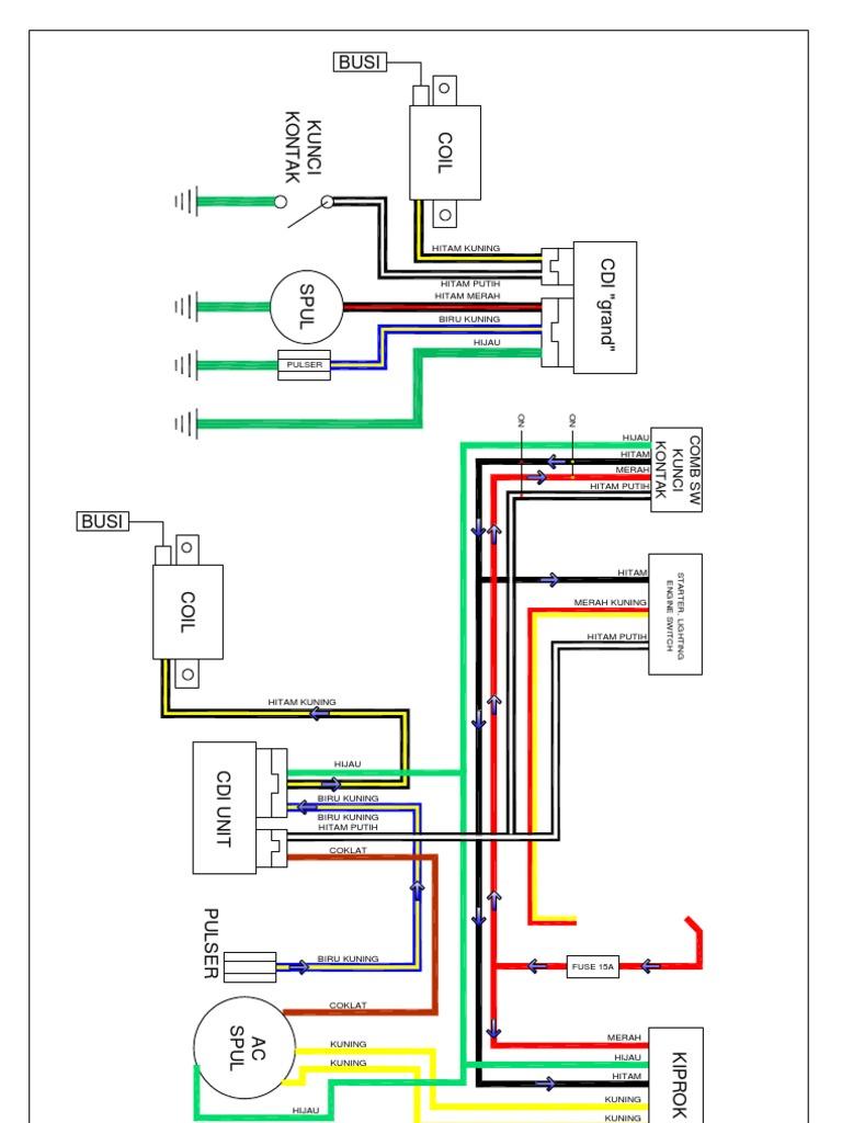 Wiring Diagram Kiprok Motor Bb purebuild co