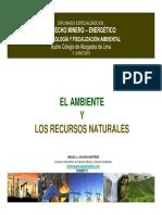 1. El Ambiente y Los Recursos Naturales Cal 1- 2019