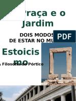 A PRAÇA E O JARDIM - PROFESSOR ANGELO CAMPOS