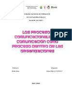los procesos comunicacionales