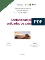 Contabilidad para entidades de extraccion