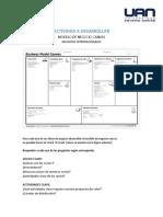 ACTIVIDAD A DESARROLLAR (modelo de negocio CANVAS)