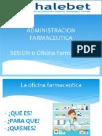 sesion 1 OFICINA FARMACEUTICA