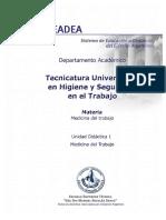 UD1 - Definición y conceptos generales Medicina  Laboral