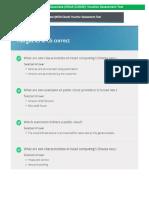 JUNIPER - Cloud  Associate (JNCIA-CLOUD) Voucher Assessment Test