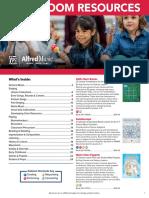 2019 Classroom Resources