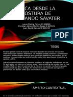 ACTIVIDAD 6_ Presentación sobre ética y convivencia desde la postura de Fernando Savater.pptx
