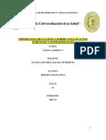 importancia de la lógica jurídica en los actos judiciales y extrajudiciales, (1)