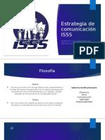 Estrategia de comunicación ISSS 2.0