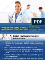 Indian Hospital Sector