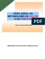 Metabolismo  Calcio e Fosfato - FOA completo.pdf