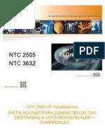 PRESENTACION NTC  2505 NTC 3632
