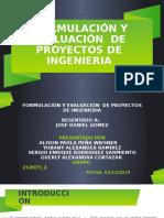 FORMULACION DE PROYECTOS   TRABAJO FINAL
